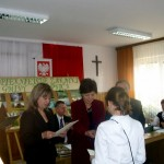 Dominika Rybarczyk z klasy VI